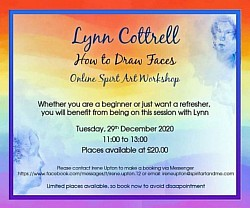 Dec2020 online workshop How to draw faces by Lynn Cottrell